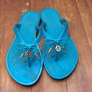 Tory Burch jelly slippers